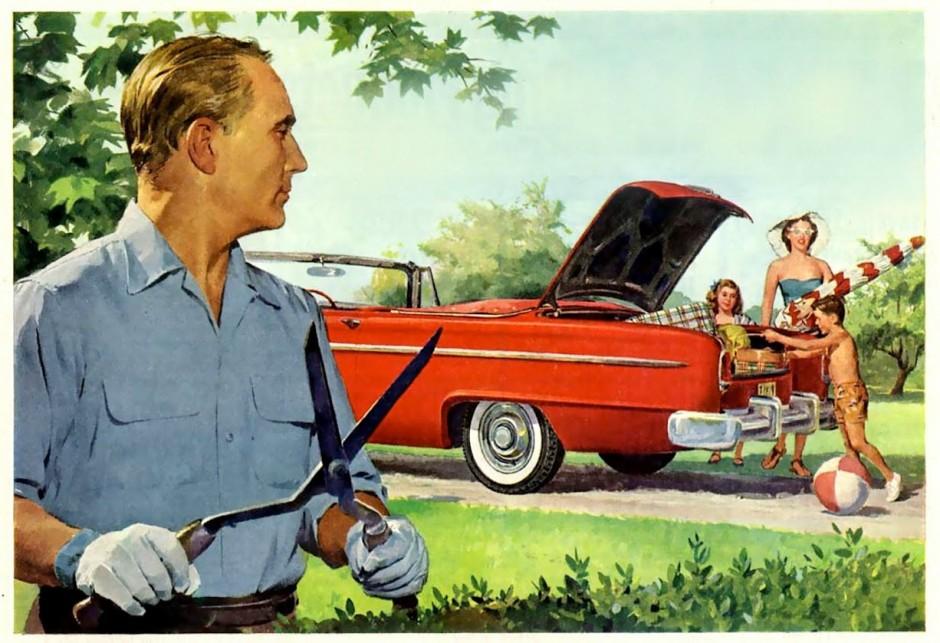 1950s car