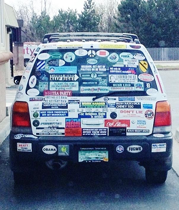 Sticker PEACE