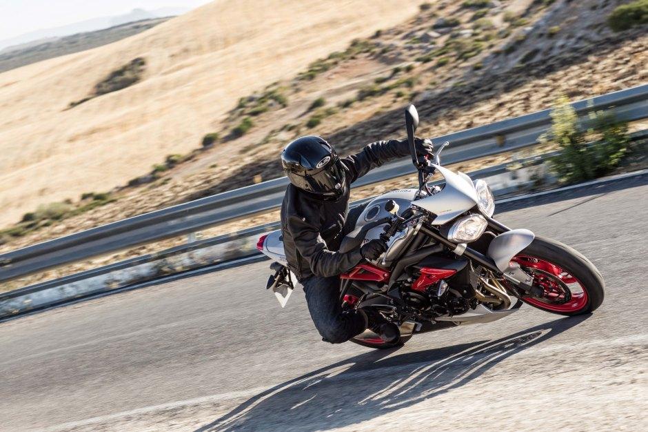 Triumph rider