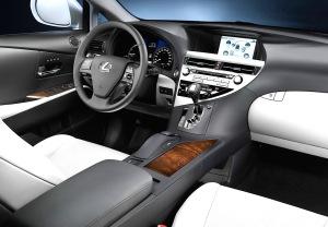 2015 Lexus RX 450 INSIDE