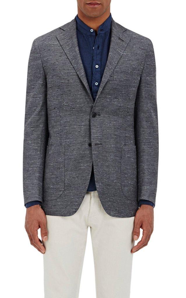 eidos-flecked-two-button-jacket