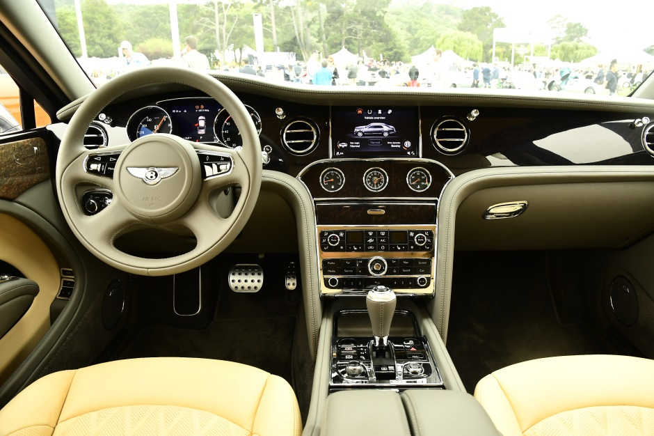 Bentley cockpit