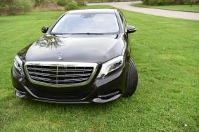 Benz Maybach on lawn
