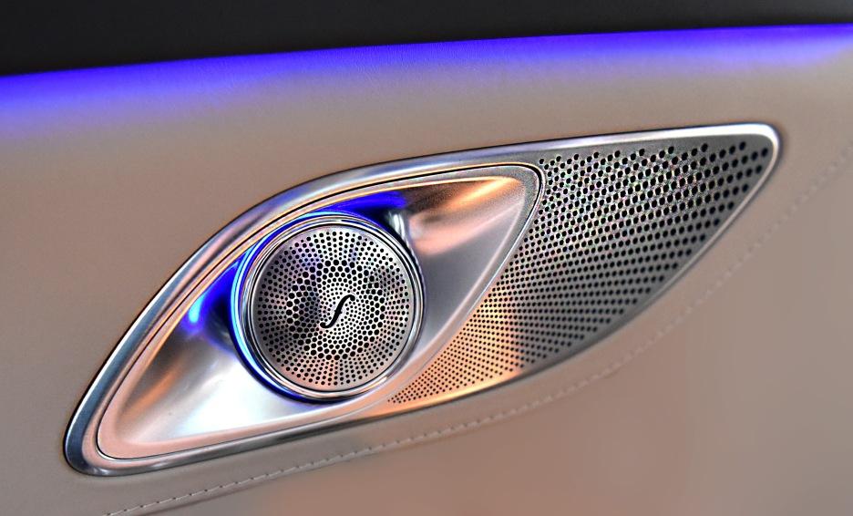 Benz Maybach Rear door