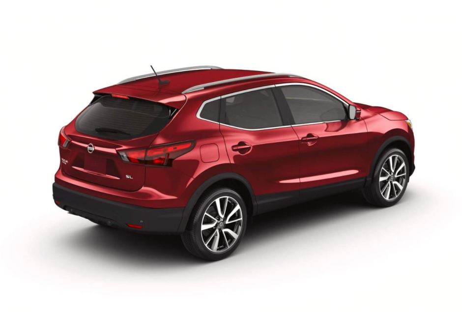 2019 Nissan Rogue Body REAR
